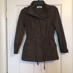 Charlotte Russe  utility jacket size extra small